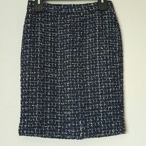 NWT J Crew boucle tweed pencil skirt